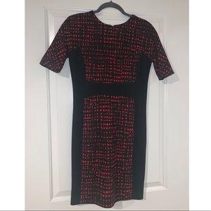Black/Red Michael Kors Dress